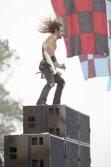 Download Festival 2010 : Airbourne