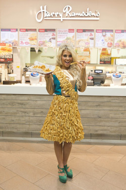 National Chip Week Beauty Queen Goes Chip Couture