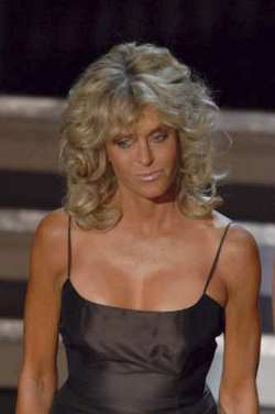 farrah fawcett boobs