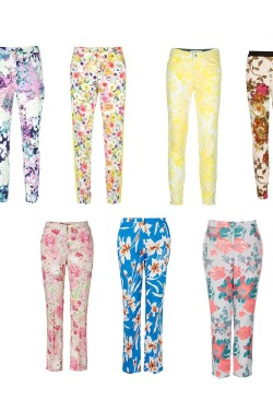 Floral trousers will make a statement for Spring