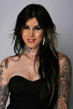 kat von d without tattoos