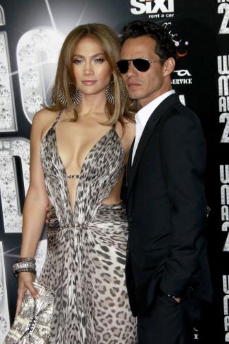 Celebrity Wedding Anniversary Jennifer Lopez And Marc Anthony 5 6 2004