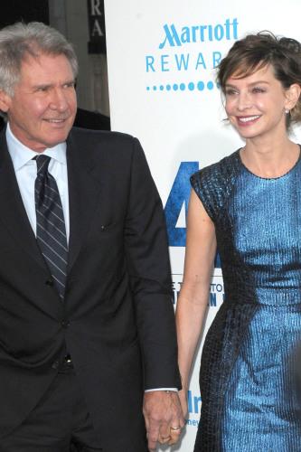 Harrison Ford And Calista Flockhart Wedding Photos