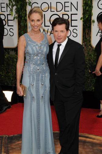 Celebrity Wedding Anniversary Michael J Fox And Tracy