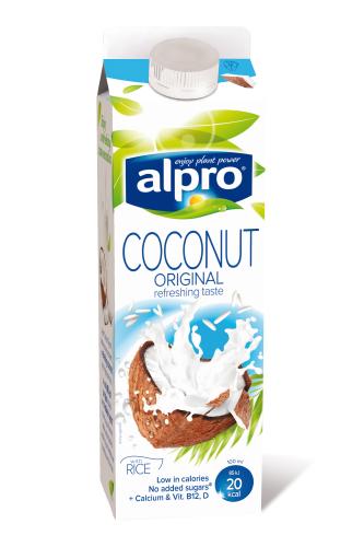 Top milk alternatives for vegans for Alpro coconut cuisine