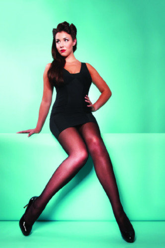 Charnos Hoisery ensure plus size ladies have tights that are comfortable