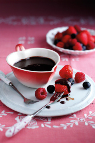 chocolate fondue coconut cajeta chocolate fondue dark chocolate fondue ...