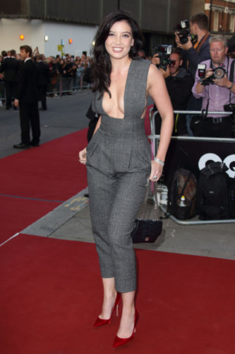 91873a31e69a Jessie J also embraced the trend in her vintage Jean Paul Gaultier gown