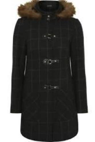 Check Print Duffle Coat £36