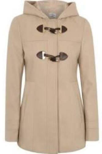 Camel Toggle Duffle Coat £20
