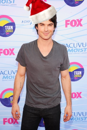 FemaleFirst's 12 Men of Christmas: Ian Somerhalder