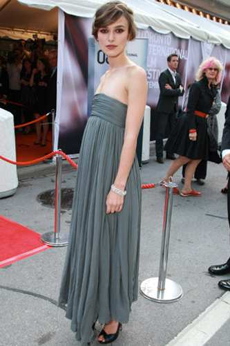 The 'Duchess' star, who has been dating actor Rupert Friend for three years,