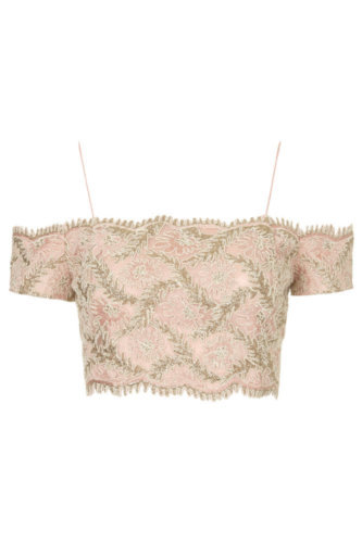 Limited edition Lace Bardot top