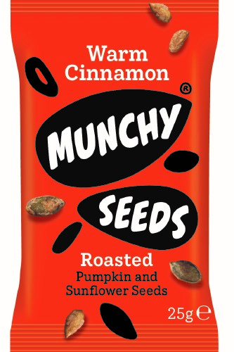 Warm Cinnamon Munchy Seeds