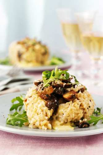 mushroom-and-brie-risotto-cakes