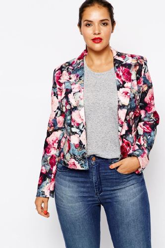 Trendy Plus Size Fashion For Women Autumn Jackets