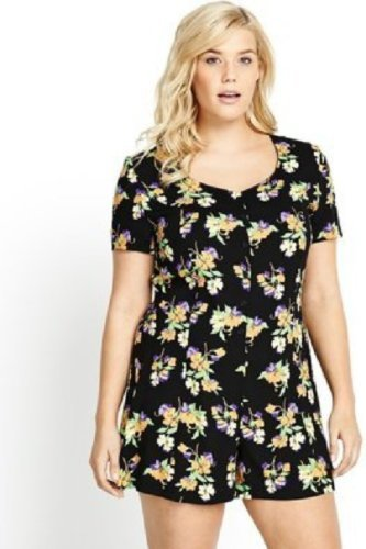 Fashion For Curvy Women Spring Florals