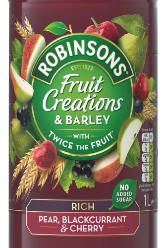 Robinsons Creations Pear, Blackcurrant and Cherry