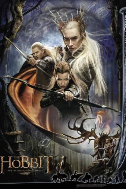 The Hobbit: The Desolation of Smaug Latest Poster