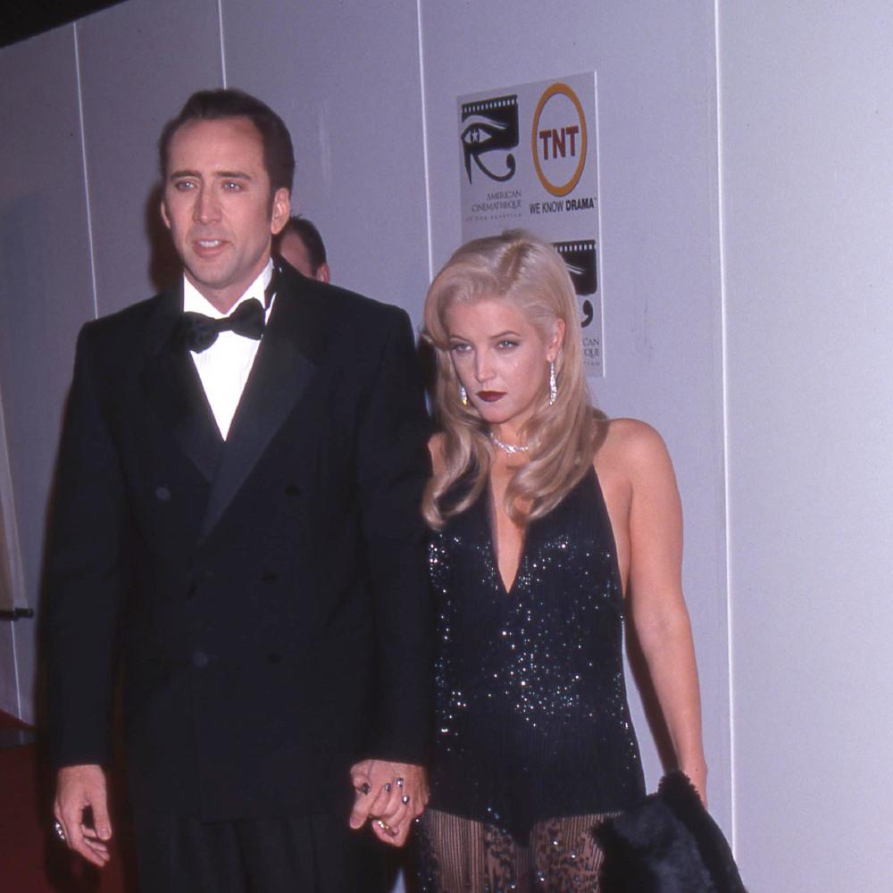 Nicolas Cage and Lisa Maria Presley 46