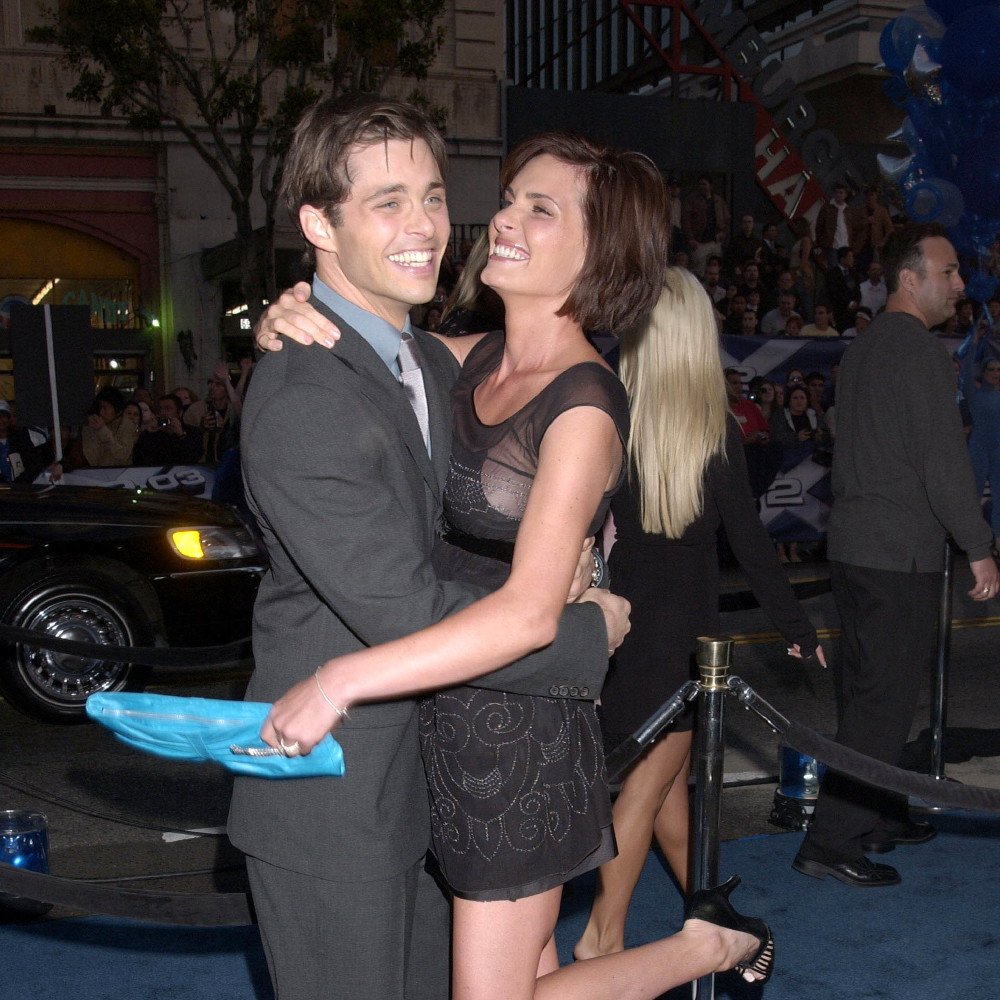 James Marsden and Lisa Linde