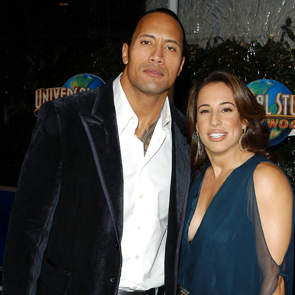 Dwayne Johnson and Dany Garcia (Credit: Famous)