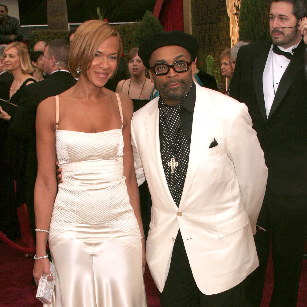 Spike Lee and Tonya Lewis