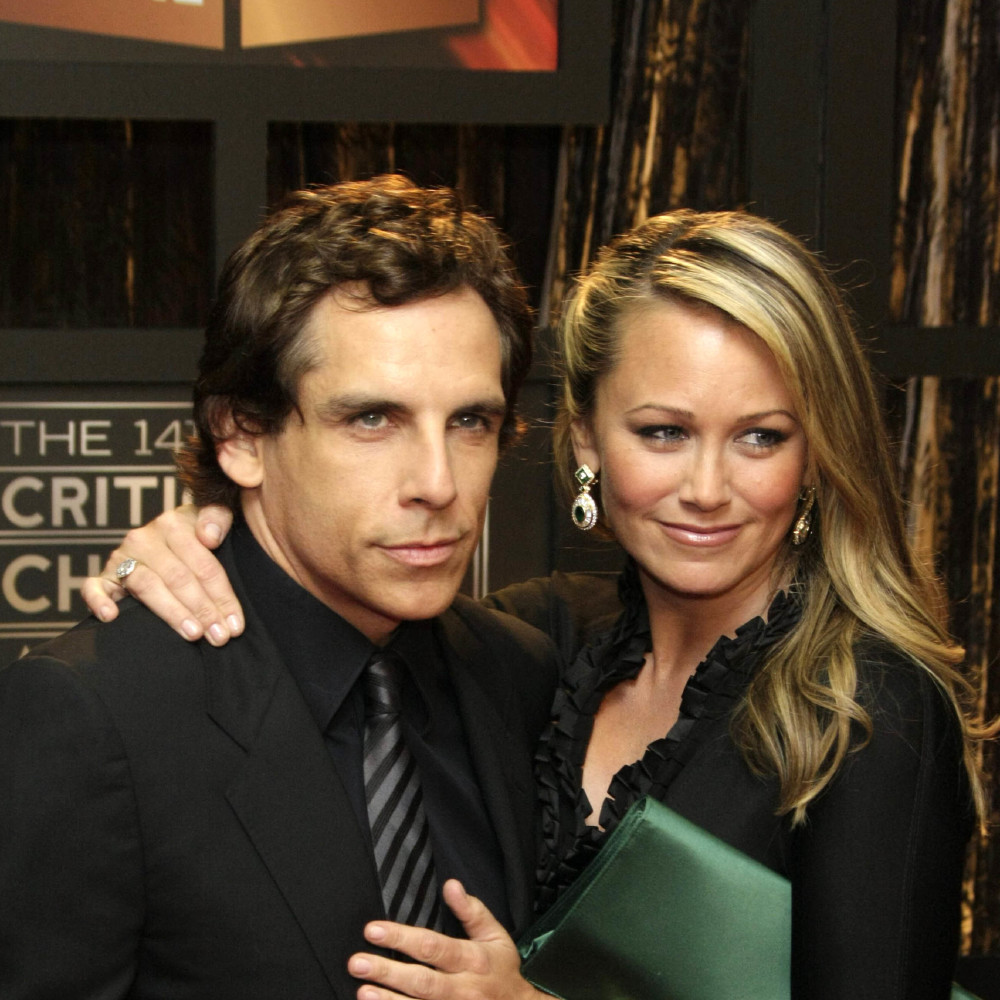 Ben Stiller and Christine Taylor (Credit: Famous)