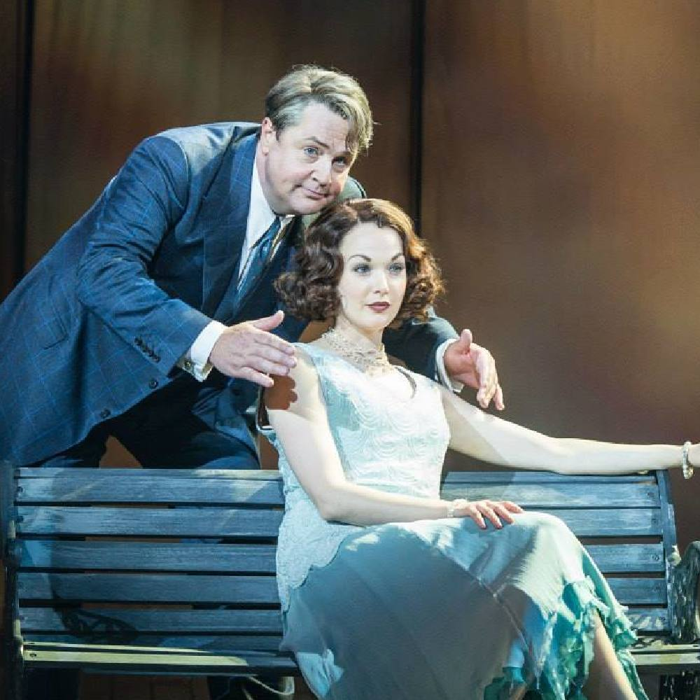 Michael Ball and Rebecca LaChance as Mack and Mabel