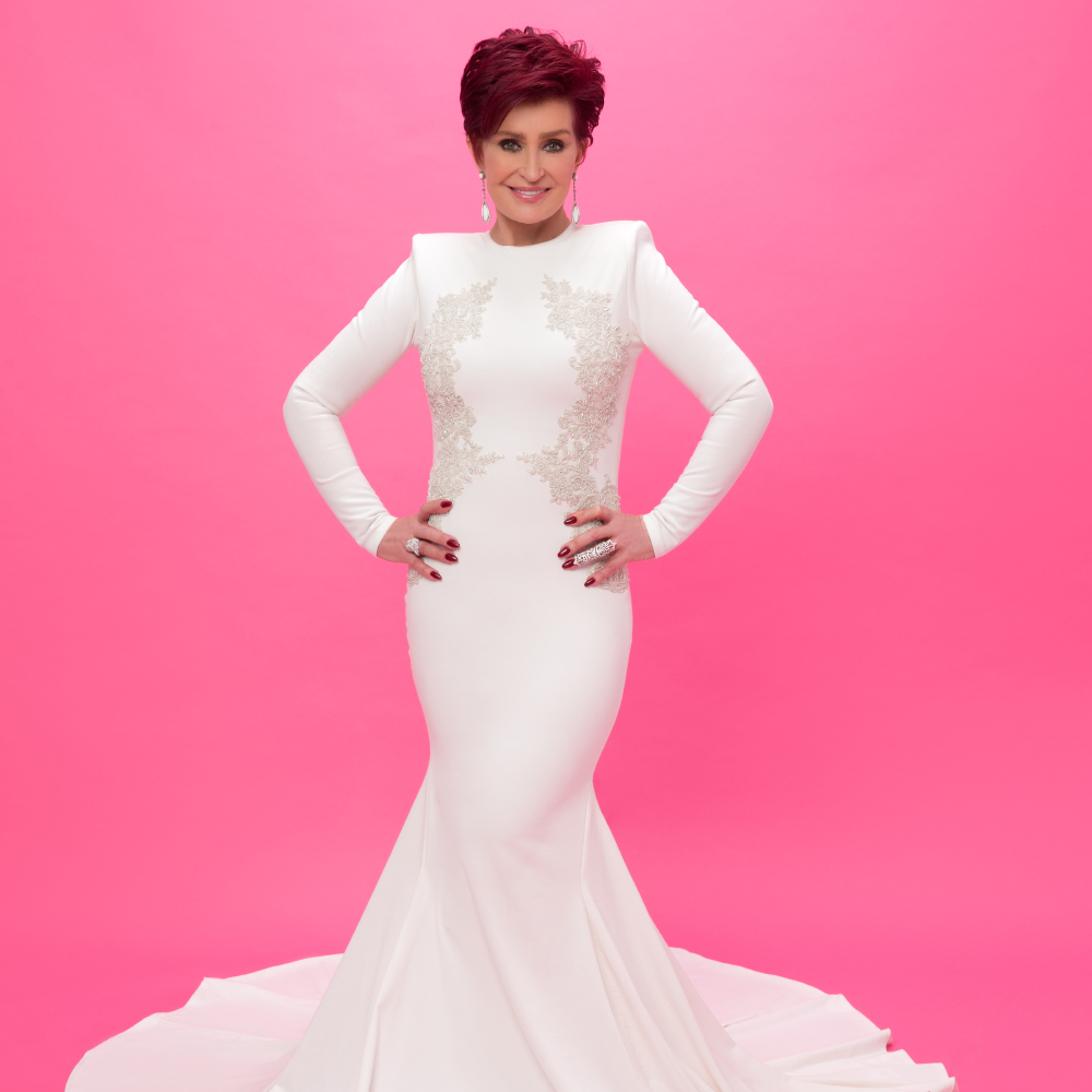 Sharon And Kelly Osbourne Get Messy In Wedding Dresses Support Of Race For Life