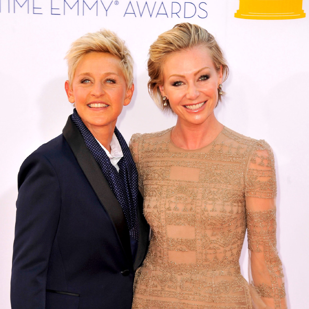 Ellen And Portia Wedding.Happy Wedding Anniversary Ellen Degeneres And Portia De Rossi