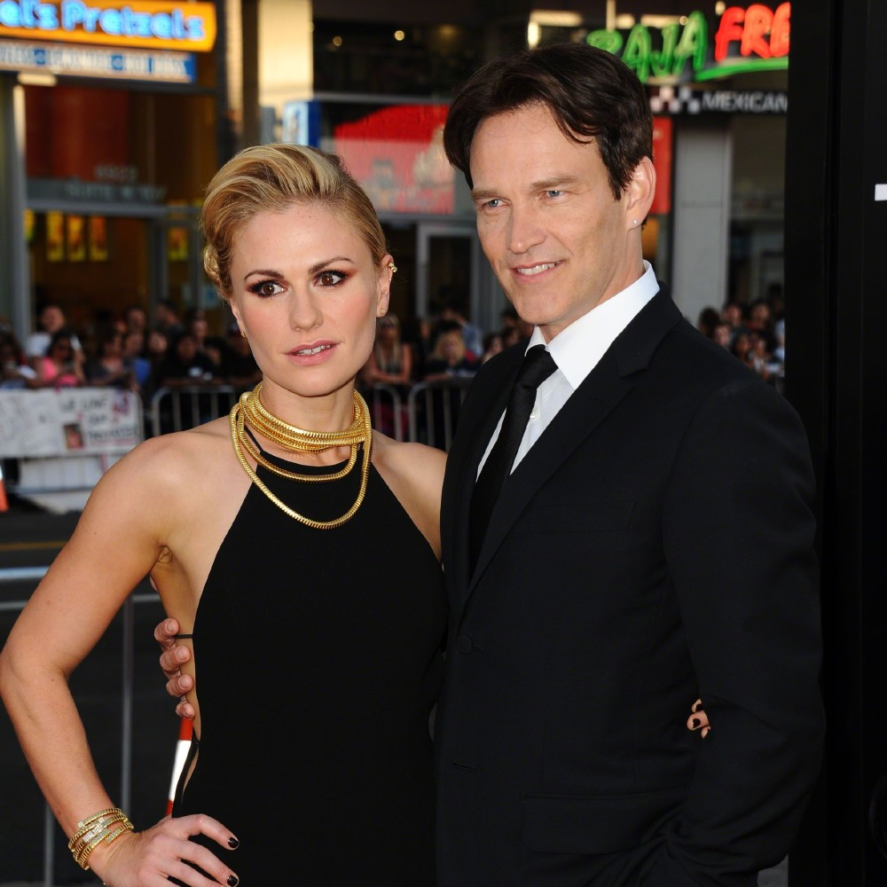 Stephen Moyer And Anna Paquin Credit Famous