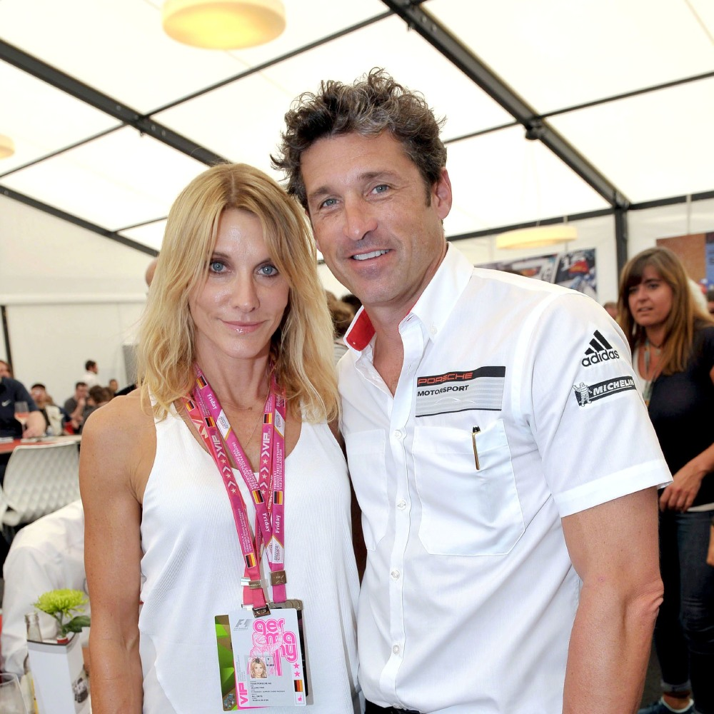 Happy Wedding Anniversary Patrick Dempsey And Jillian Fink