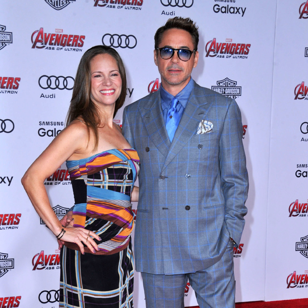 Celebrity Wedding Anniversary Robert Downey Jr And Susan Levin 27 5