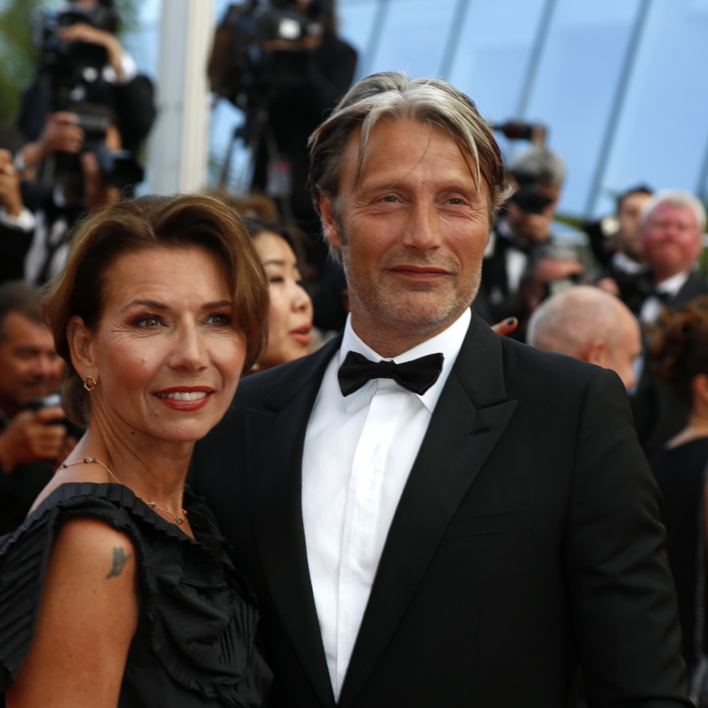 Mads Mikkelsen and Hanne Jacobsen (Credit: Famous)