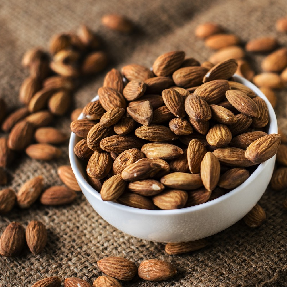 Almonds are a great source of energy and protein