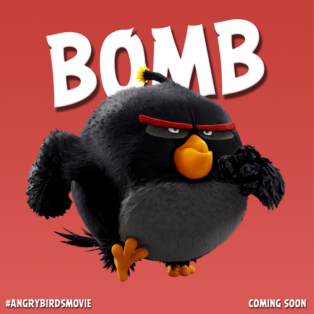 angry birds movie new character images. Black Bedroom Furniture Sets. Home Design Ideas