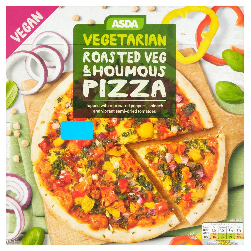 Asda Launches New Vegan Pizza