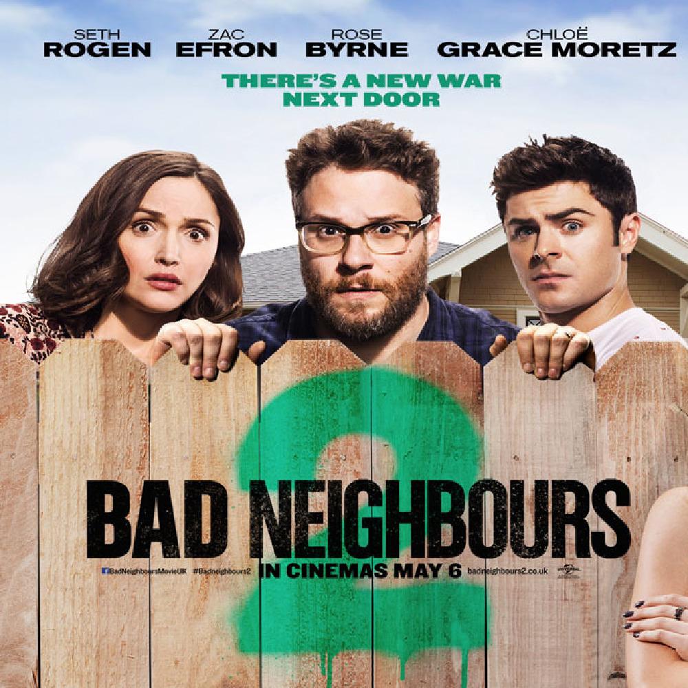 bad neighbours 2 rollista