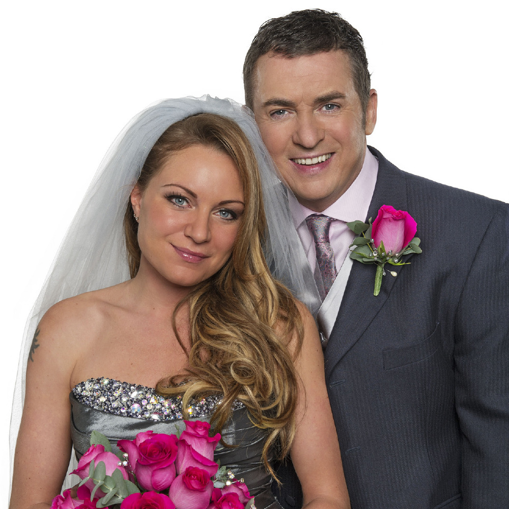 eastenders roxy and alfie wedding pictures first look