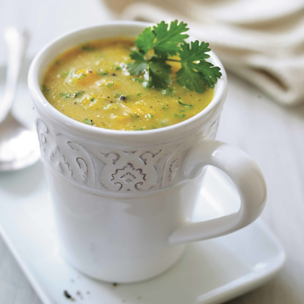 Fiery Sweet Potato And Coconut Soup by William Shaw