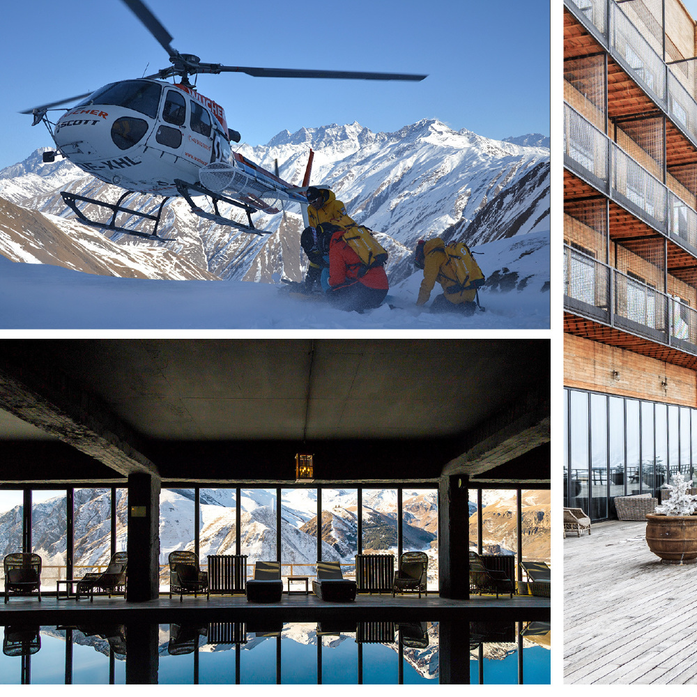 Rooms hotel kazbegi europe 39 s hottest new heli skiing for Ski design hotel