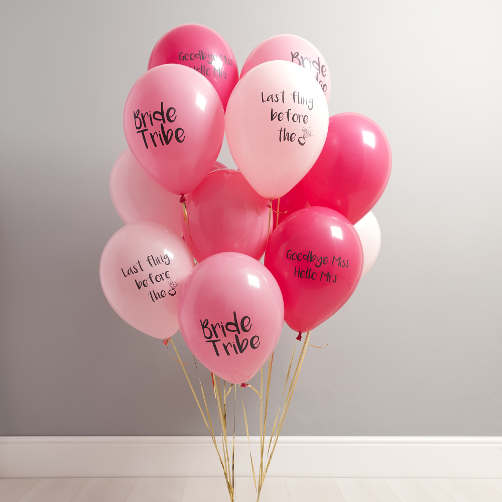 7 ways to style your hen party with balloons