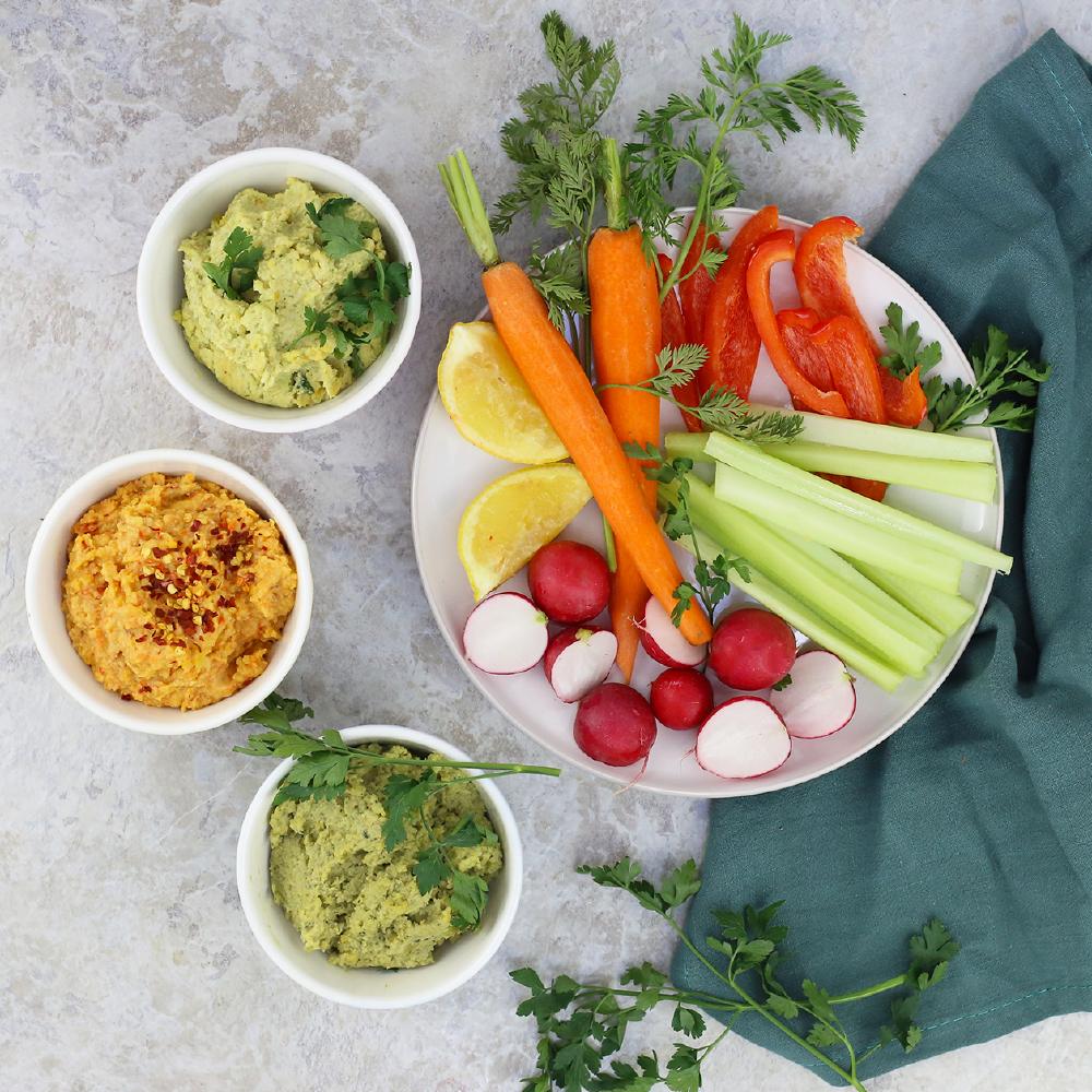 3 Healthy Hummus Recipes