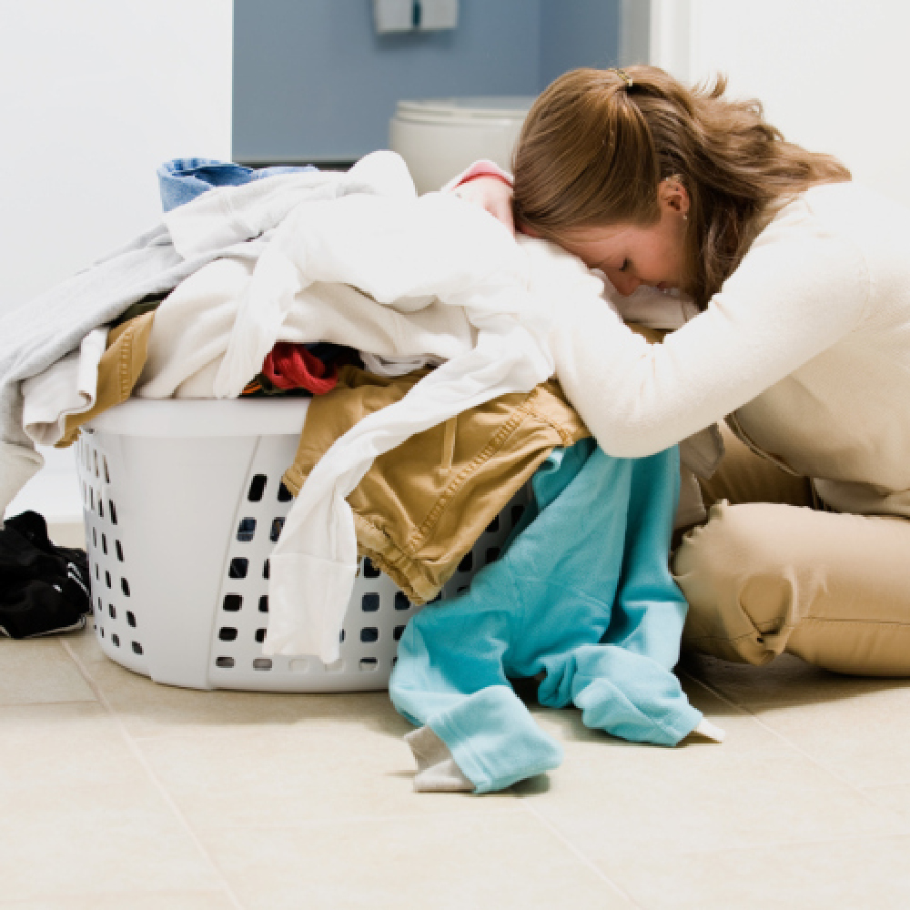 Dirty Students Leave Washing For Parents