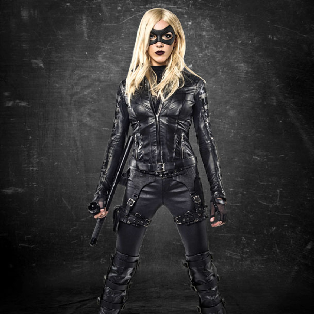 Katie Cassidy as Black Canary / Credit: The CW