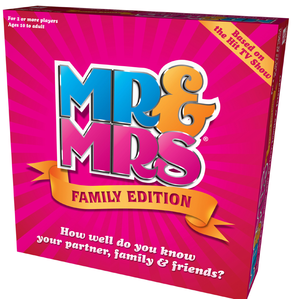 Win A Mr And Mrs Family Edition Board Game