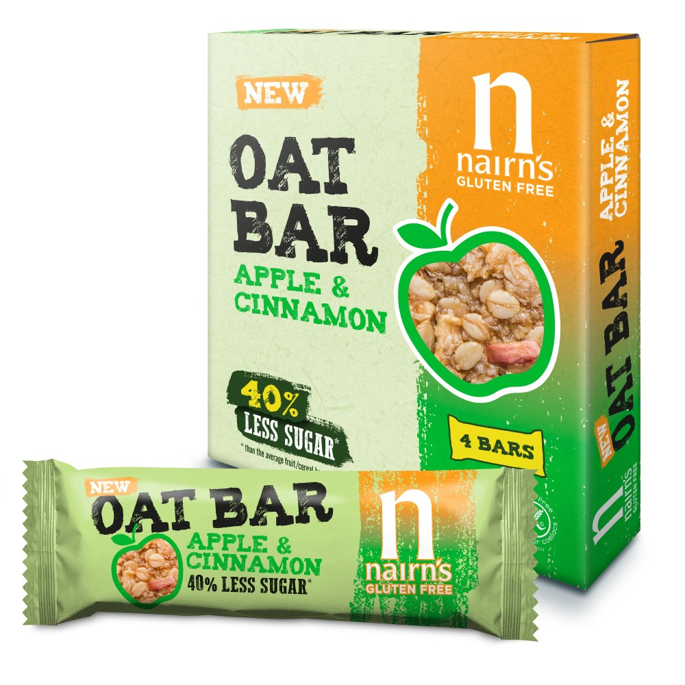 Nairn's Oat Bars Apple and Cinnamon