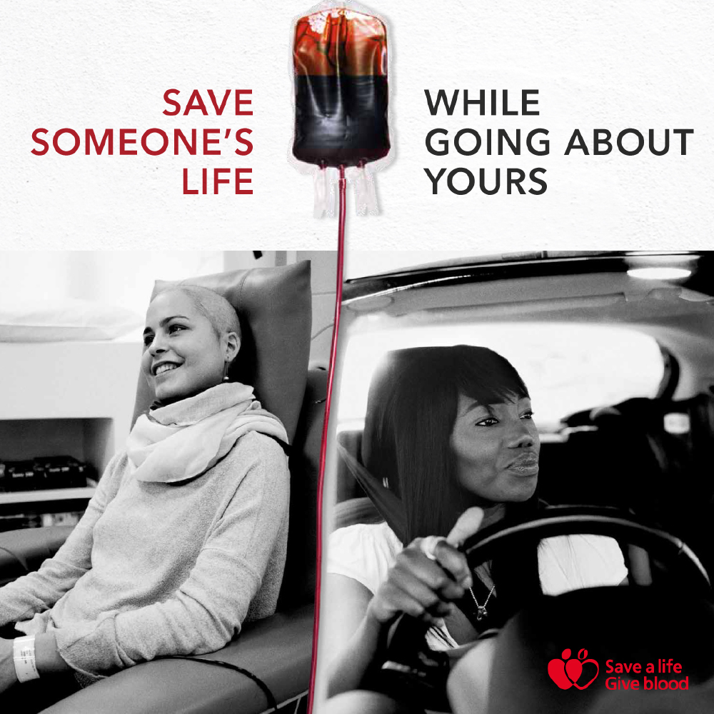 Save someone's life while going about yours