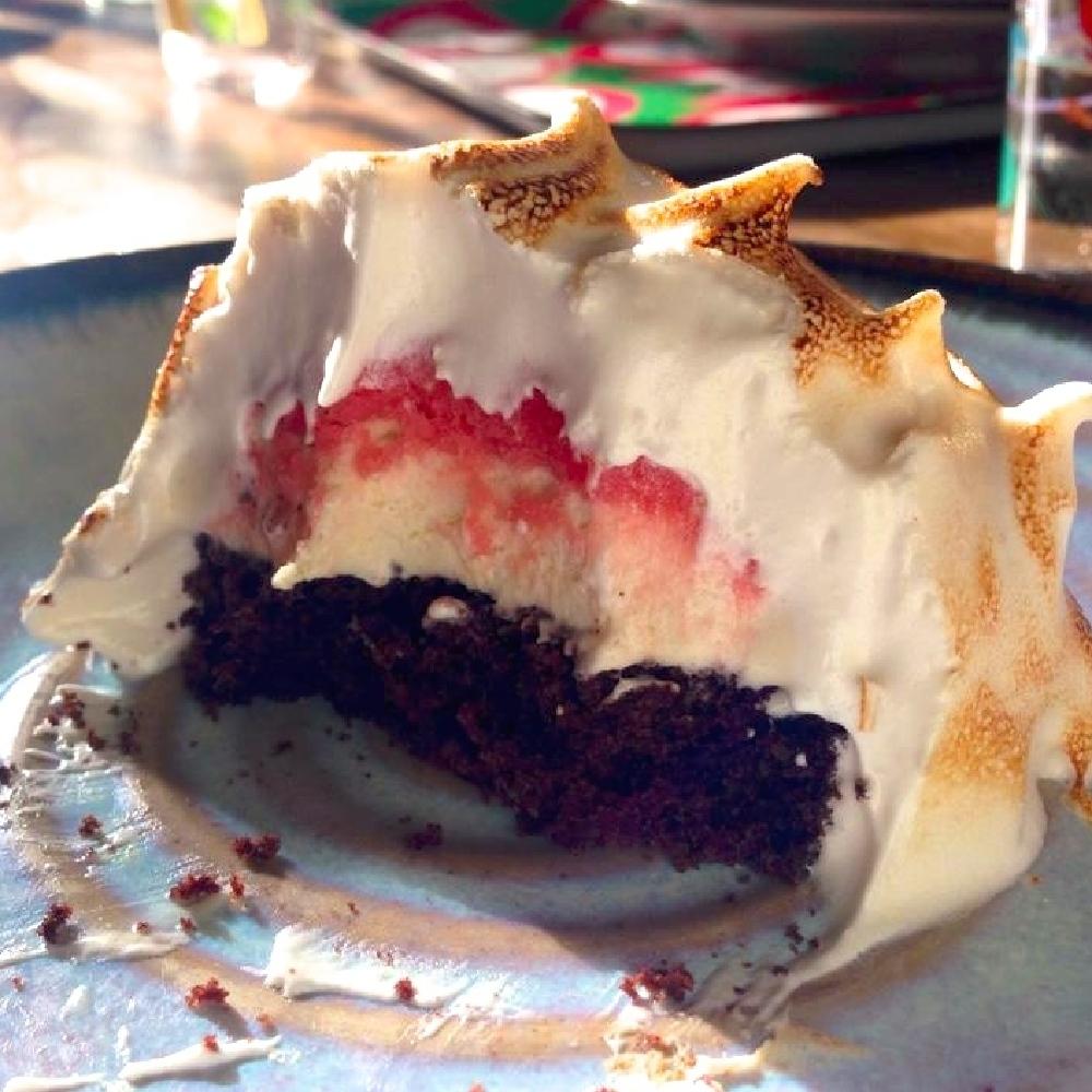 Chocolate Beetroot Polenta Cake